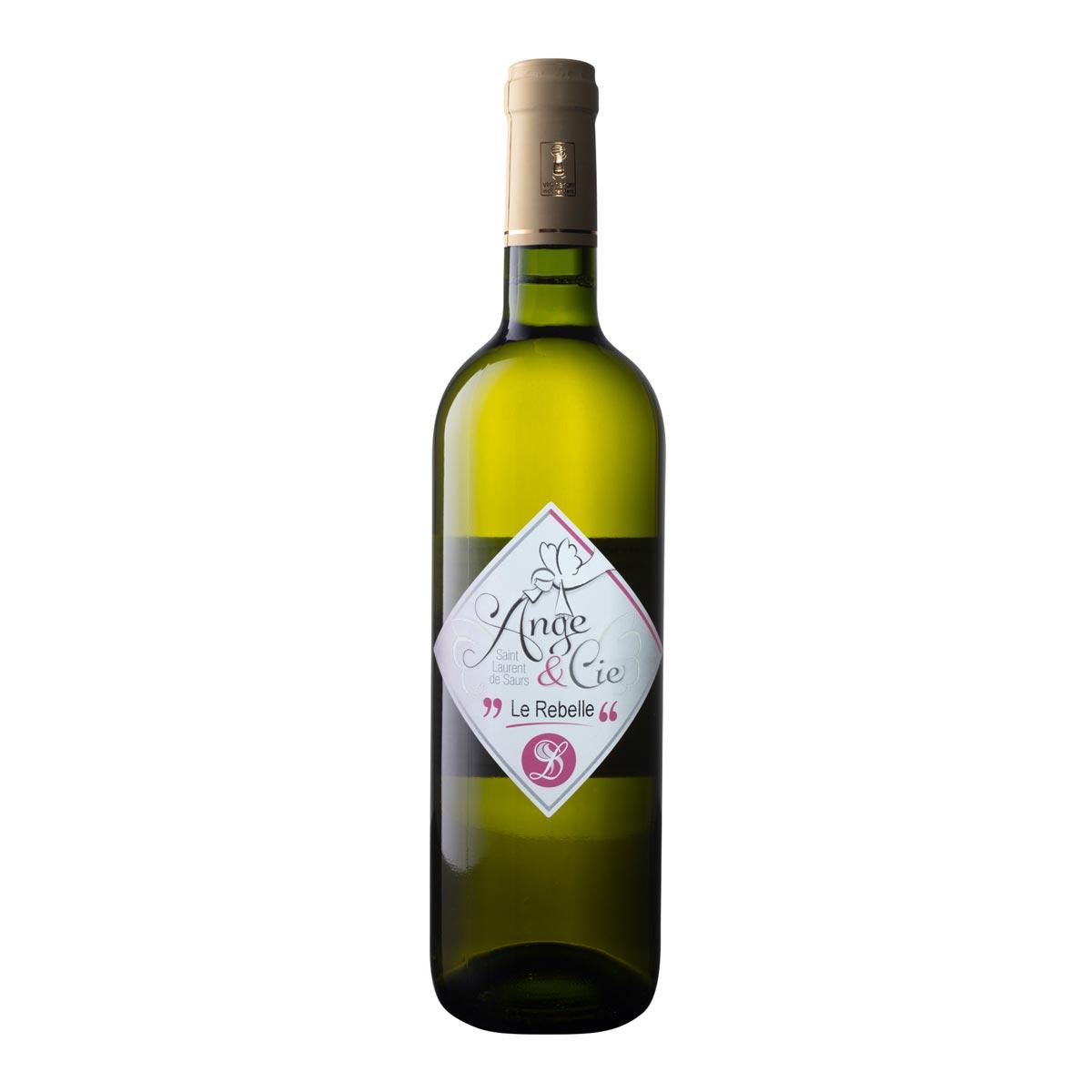 Vin de Gaillac blanc Cuvée Ange et Cie Le rebelle